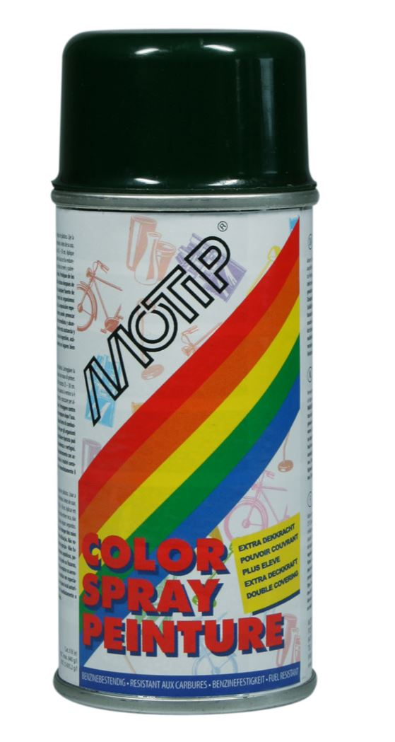 motip spray hoogglans - ral 6009