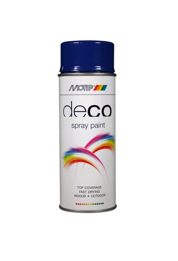 motip spray hoogglans - ultramarijnblauw