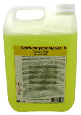 natriumhypocloriet - pure chloor