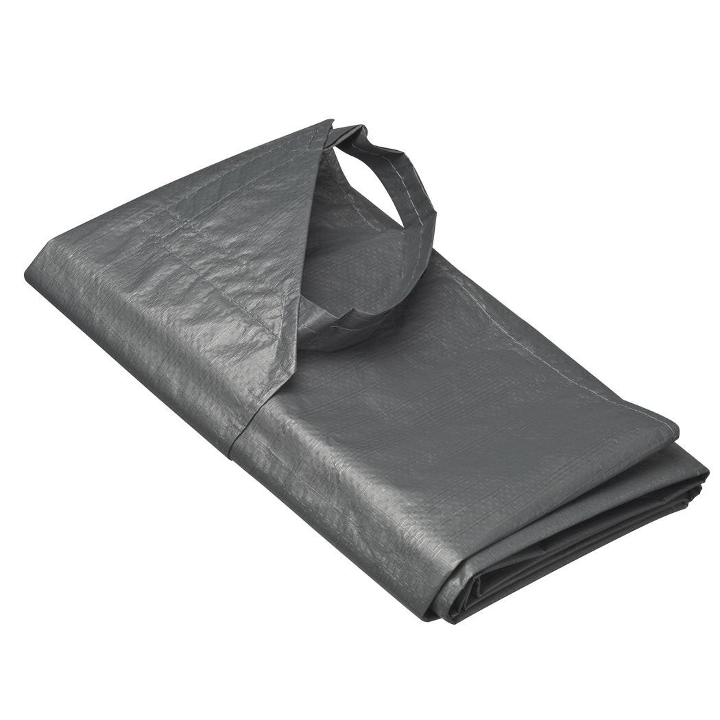 nature afdekzeil voor kofferbak grijs
