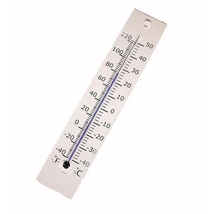 nature muurthermometer plexiglas kelvin 5