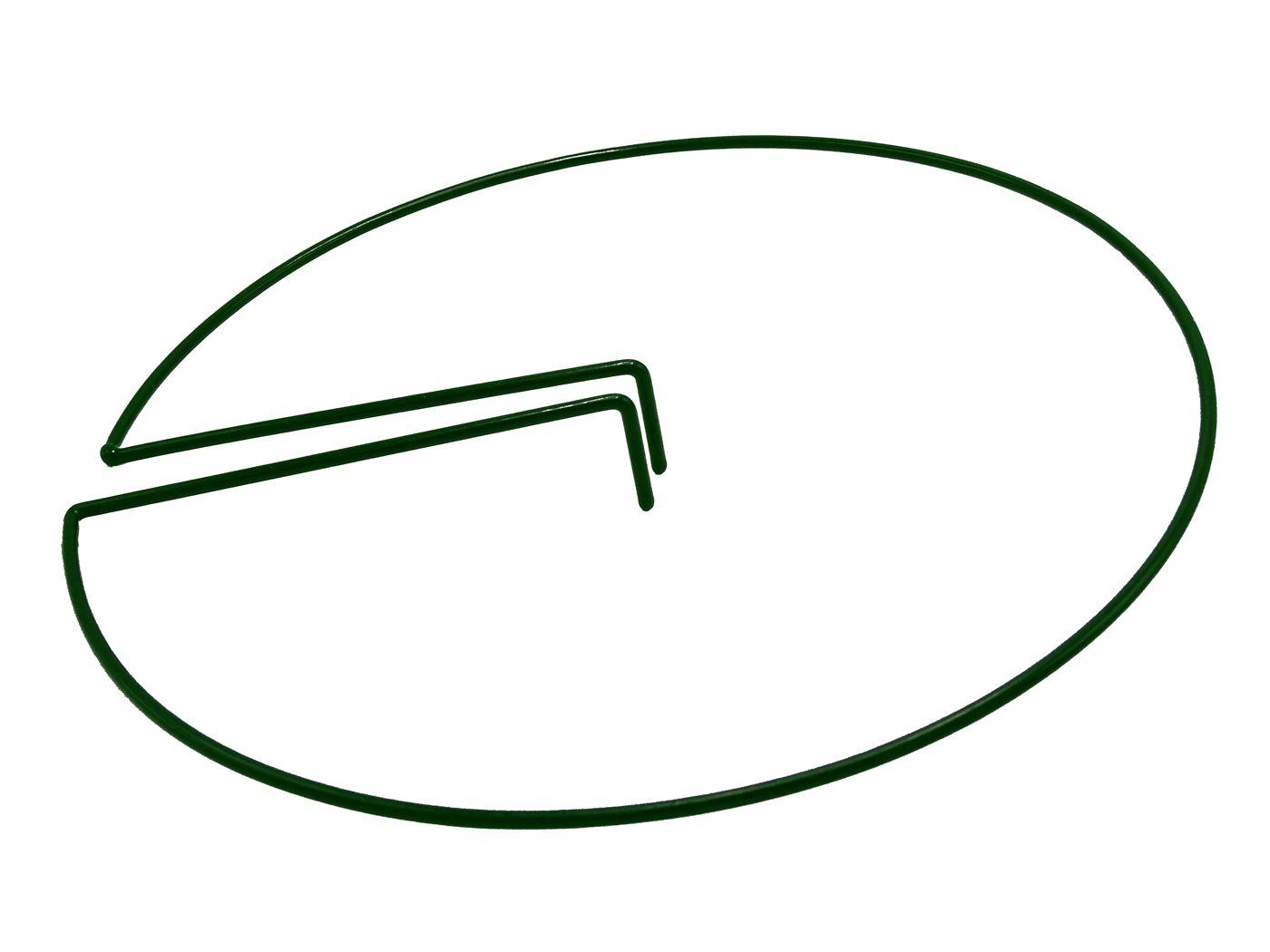 nature plantensteun rond (ø4,5mm) voor plantenstok met verstelbare clip