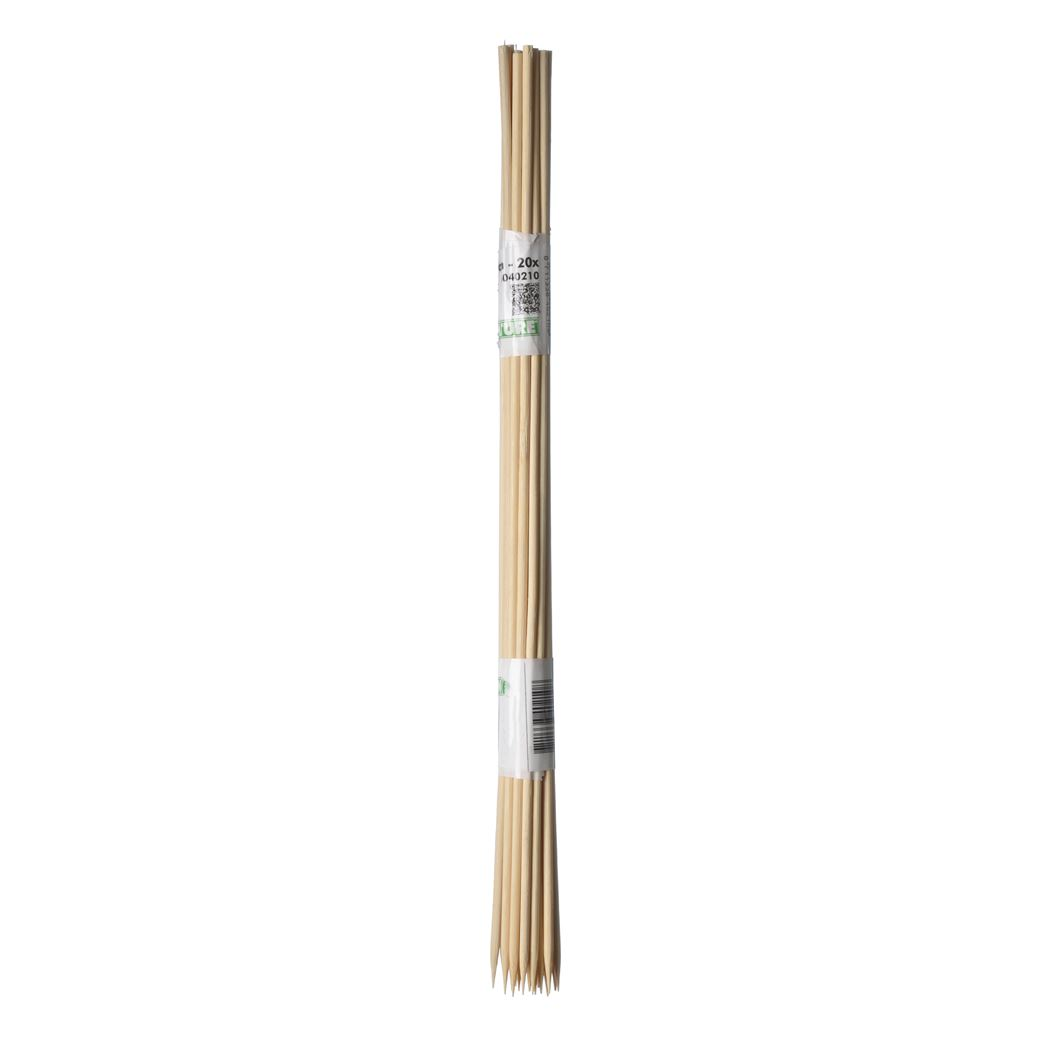 nature splitbamboe naturel 4/4.5mm (10sts)
