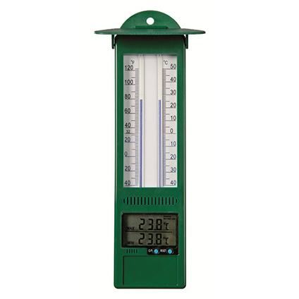 nature thermometer kunststof min-max kelvin 15
