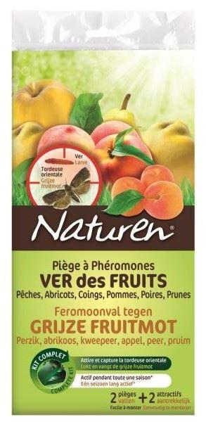 naturen feromoonval tegen grijze fruitmot (2sts)