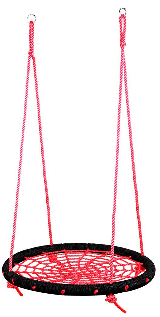 nestschommel rood/zwart
