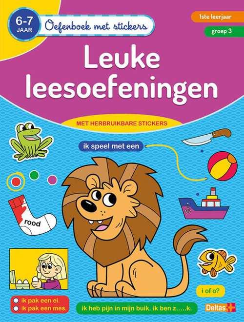 oefenboek met stickers - leuke leesoefeningen (6-7 j.)