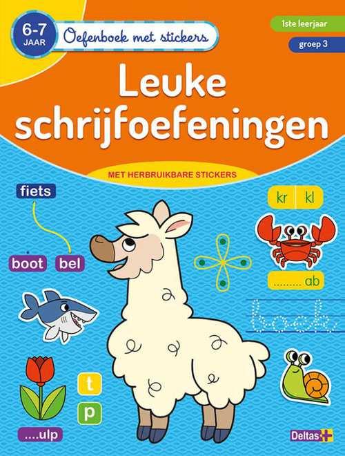 oefenboek met stickers - leuke schrijfoefeningen (6-7 j.)