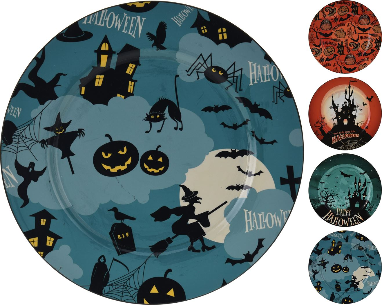 onderzetbord halloween (4ass.)