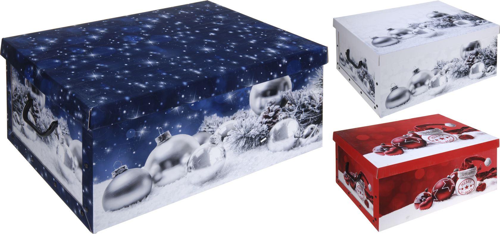 opbergbox new kerst design (3ass.)