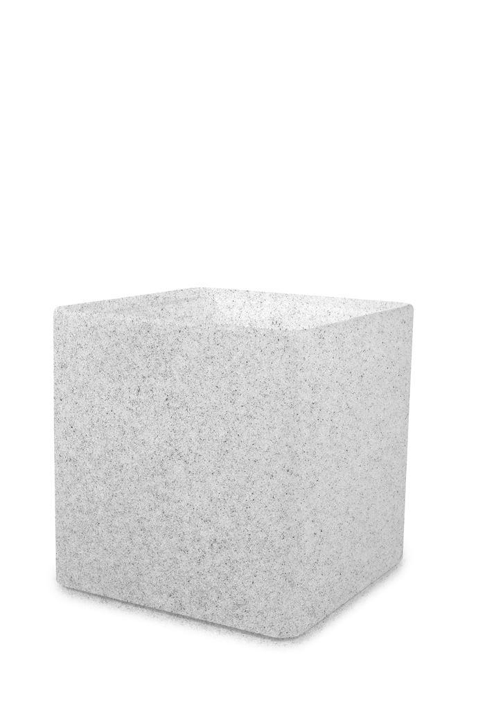 otium bloempot quadris 60 light stone  new