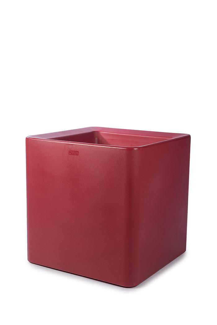 otium bloempot quadris 60 red