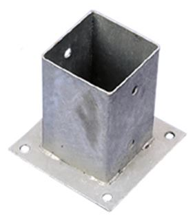 paalhouder - metpost (voor beton)