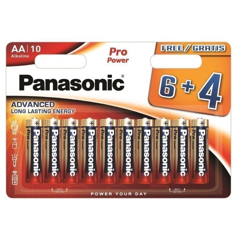 panasonic batterij aa lr06 (6+4sts)