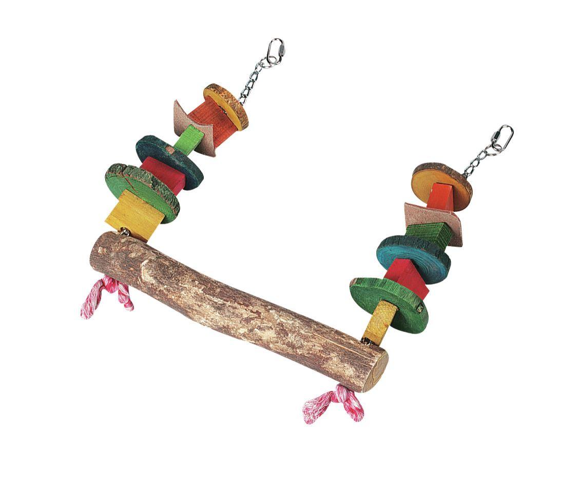 papegaaienspeelgoed kralenschommel
