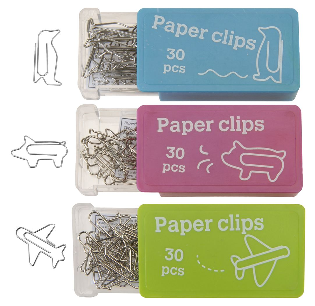 paperclips figuren (30sts)(6ass.)