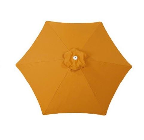 paraflex parasol pf hexagonaal limited edition orange