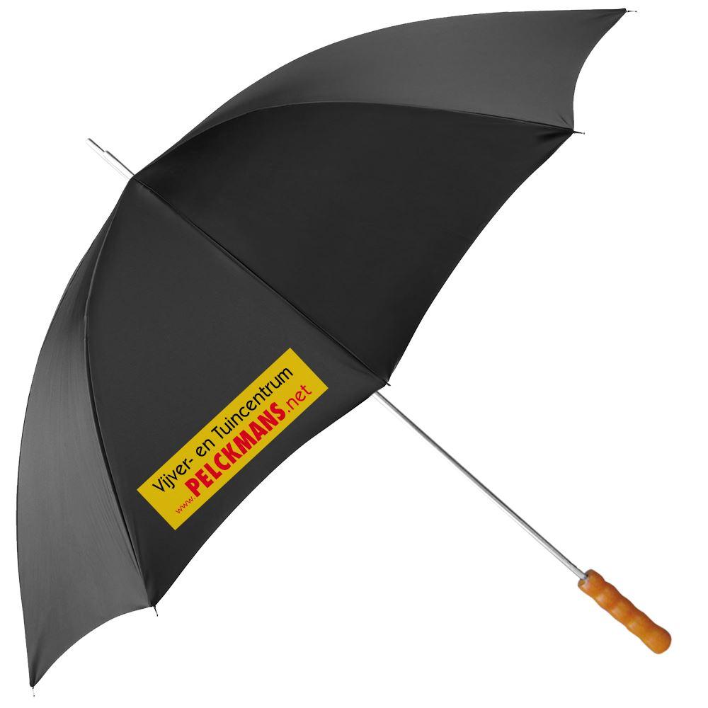 paraplu zwart pelckmans