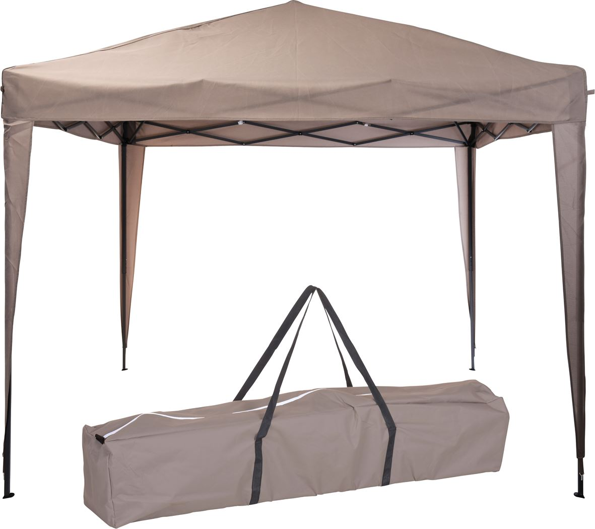 partytent taupe