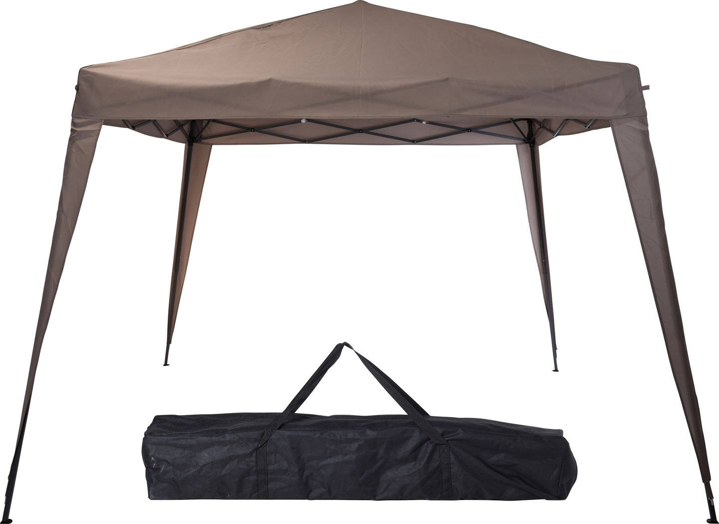 partytent vouw taupe