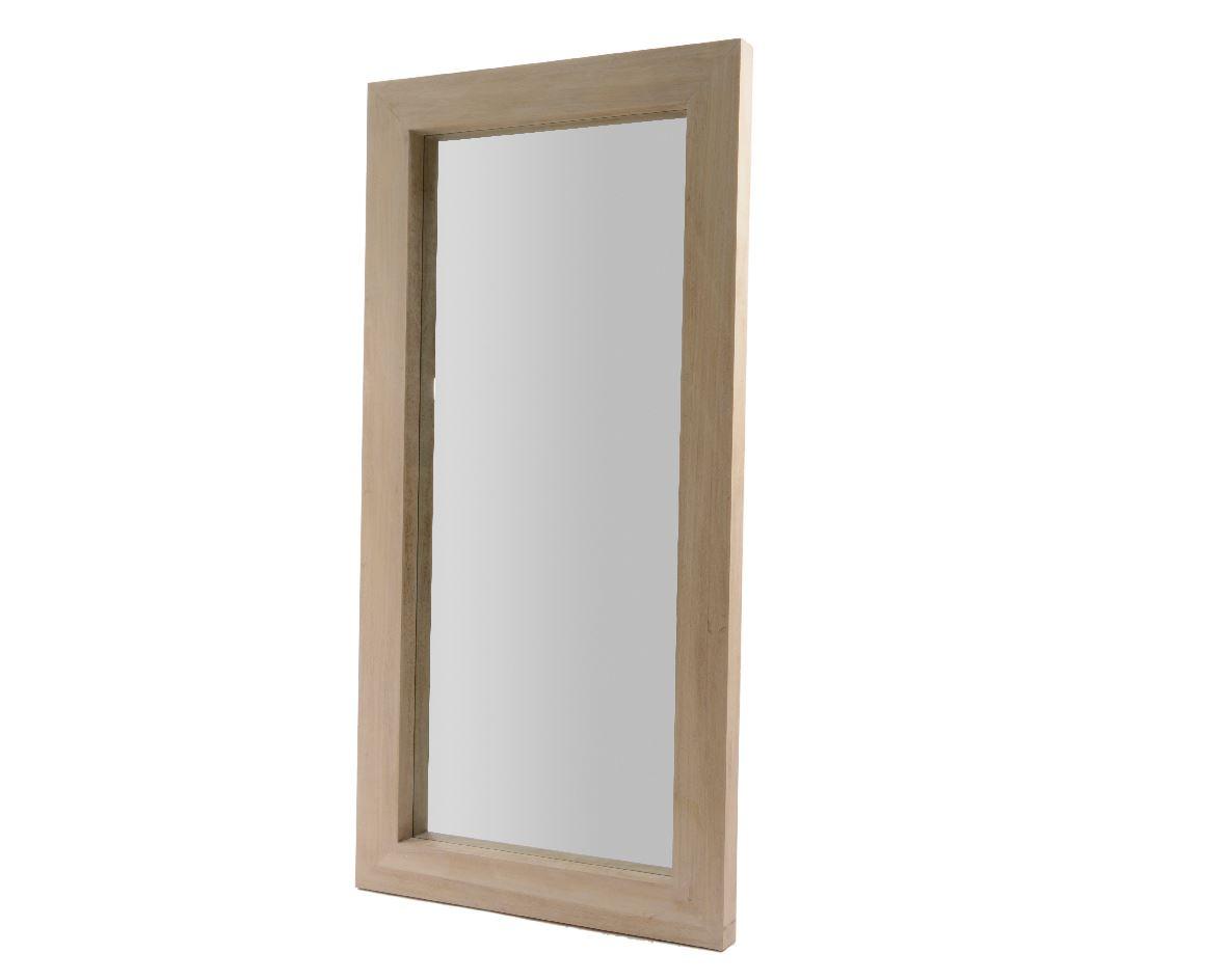 paulownia houten spiegel
