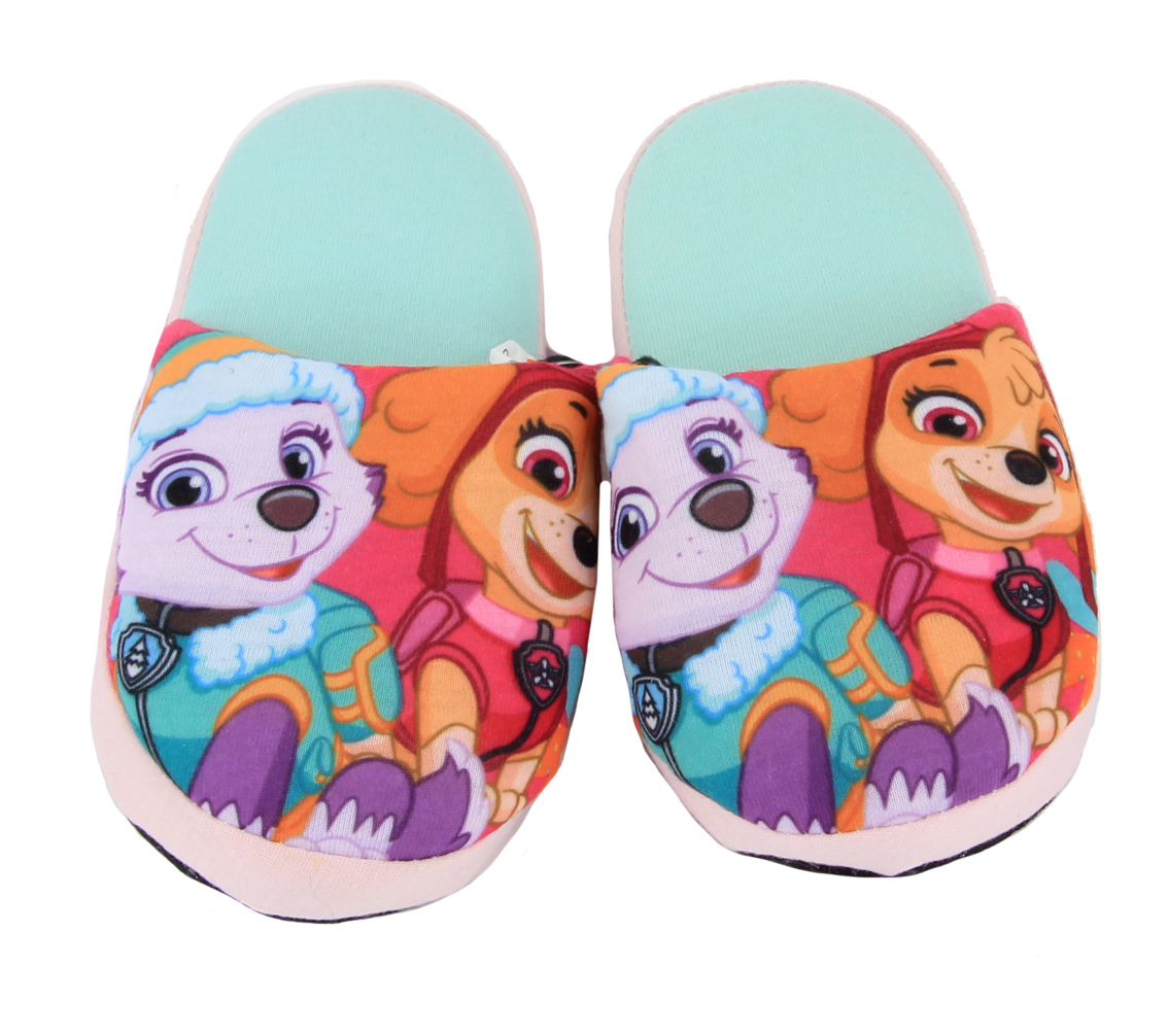 paw patrol girl slippers