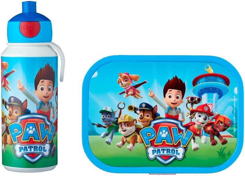 paw patrol lunchset (pop up +  lunchbox)
