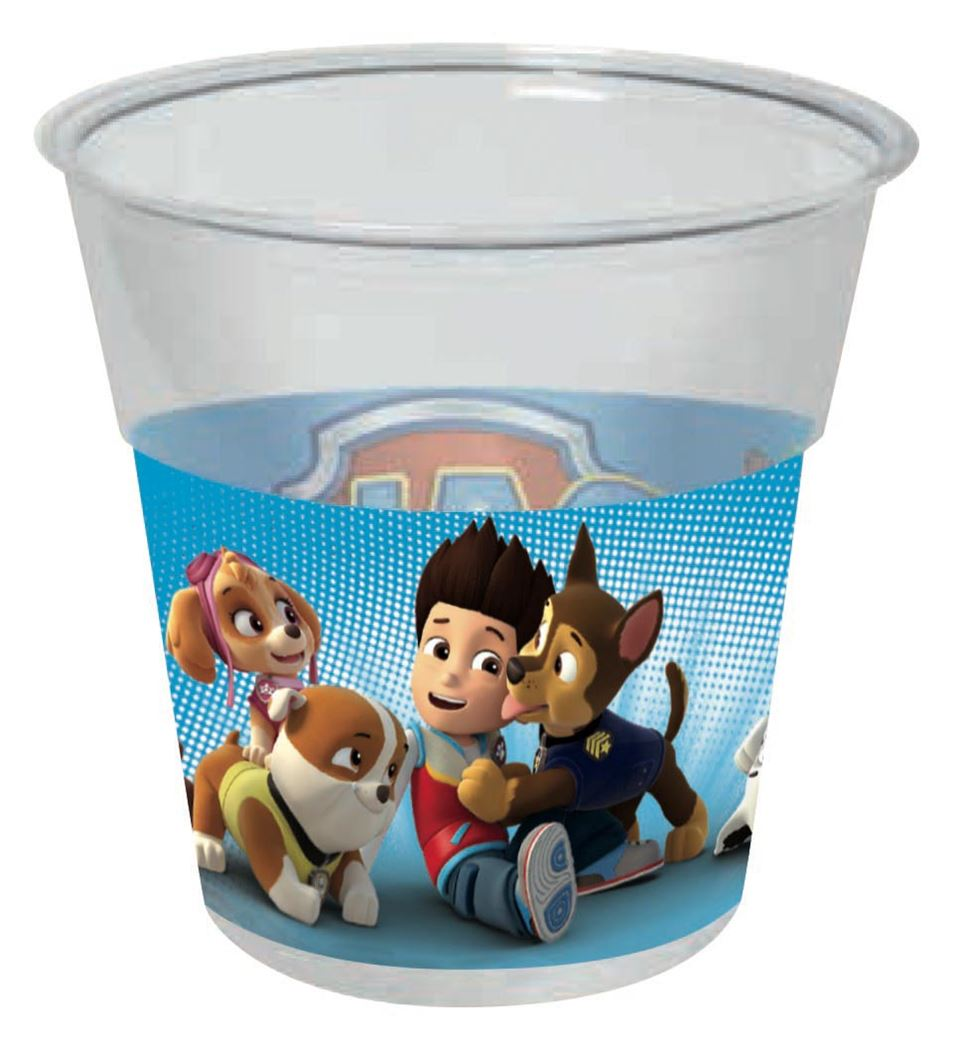 paw patrol pet cups (8sts)
