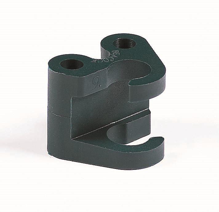 peacock twister koppelstukje - 9mm (4sts)