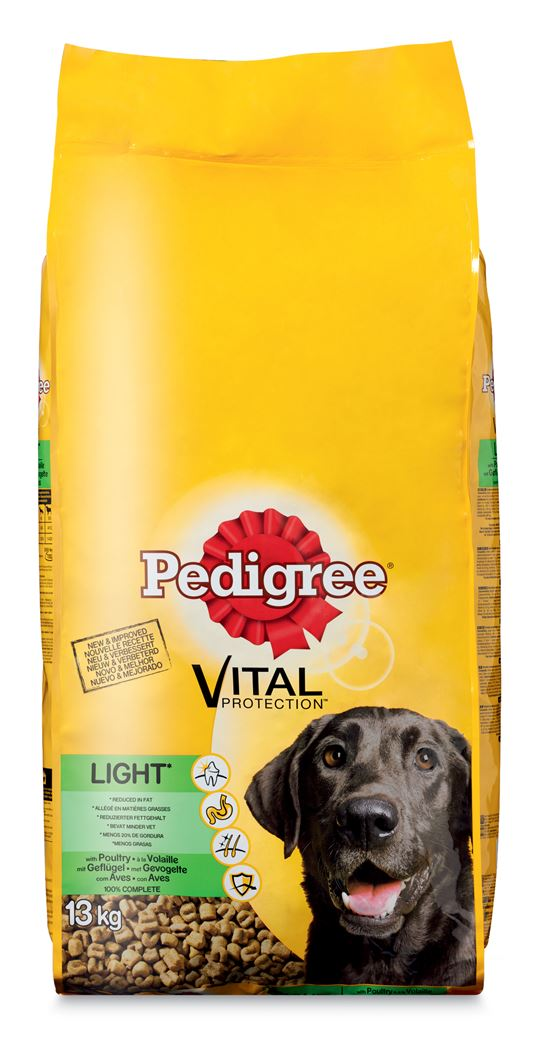 pedigree vital adult light gevogelte