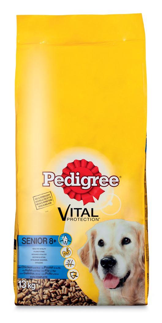 pedigree vital senior 8+ kip&rijst