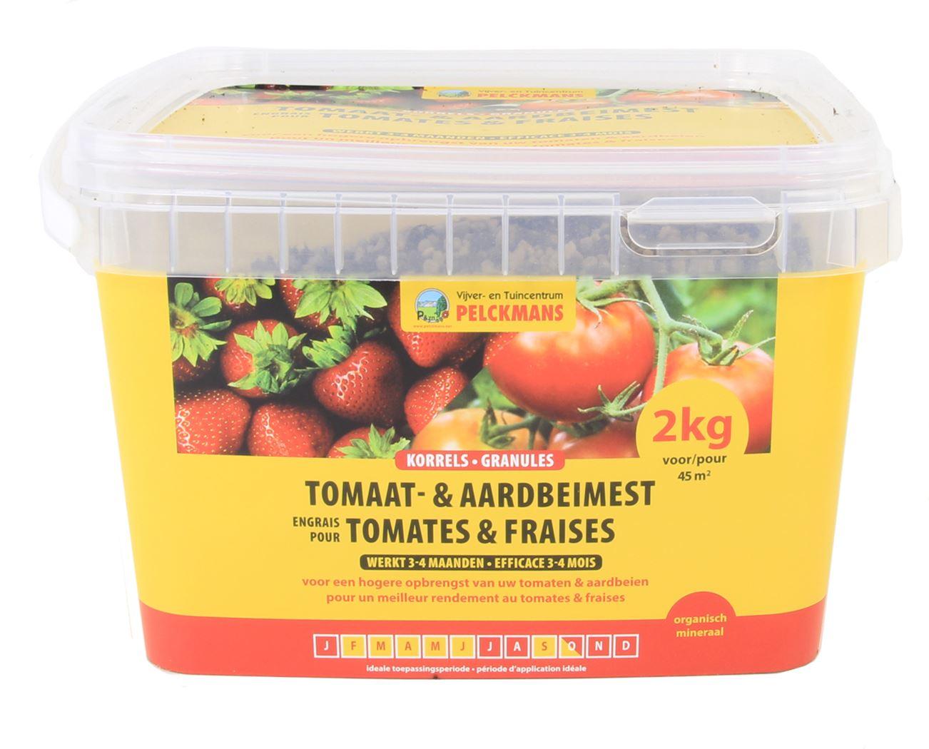 pelckmans meststof voor tomaten en aardbeien