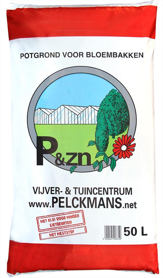 pelckmans potgrond voor bloembakken