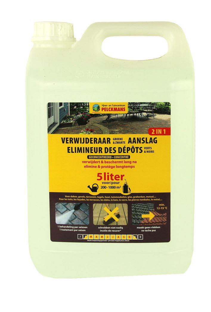 pelckmans verwijderaar van groene en zwart aanslag, algen en mossen (geconcentreerd)