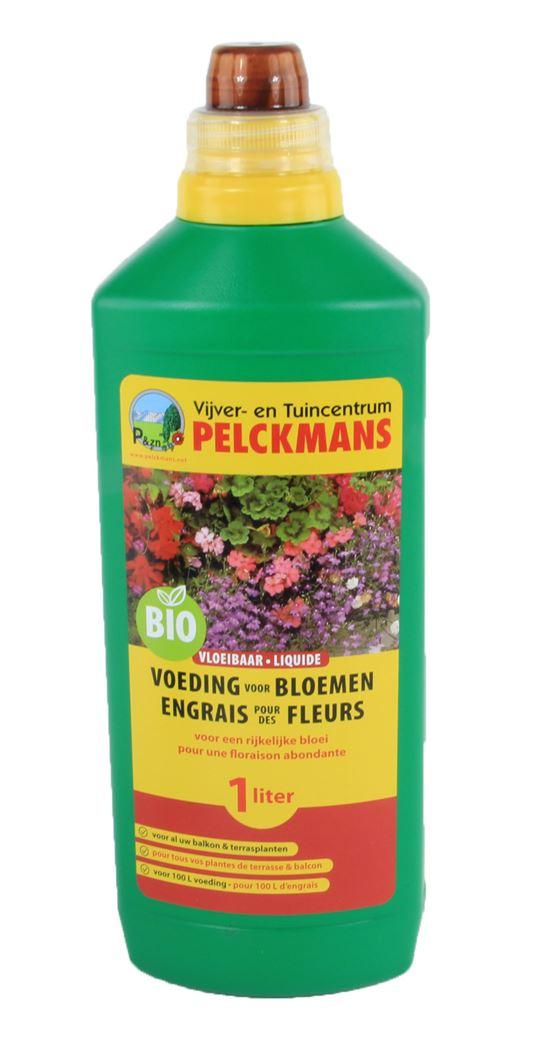 pelckmans vloeibare voeding voor bloemen bio
