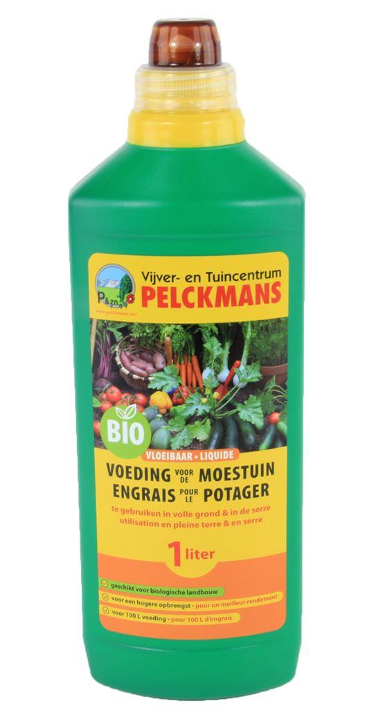 pelckmans vloeibare voeding voor moestuin bio