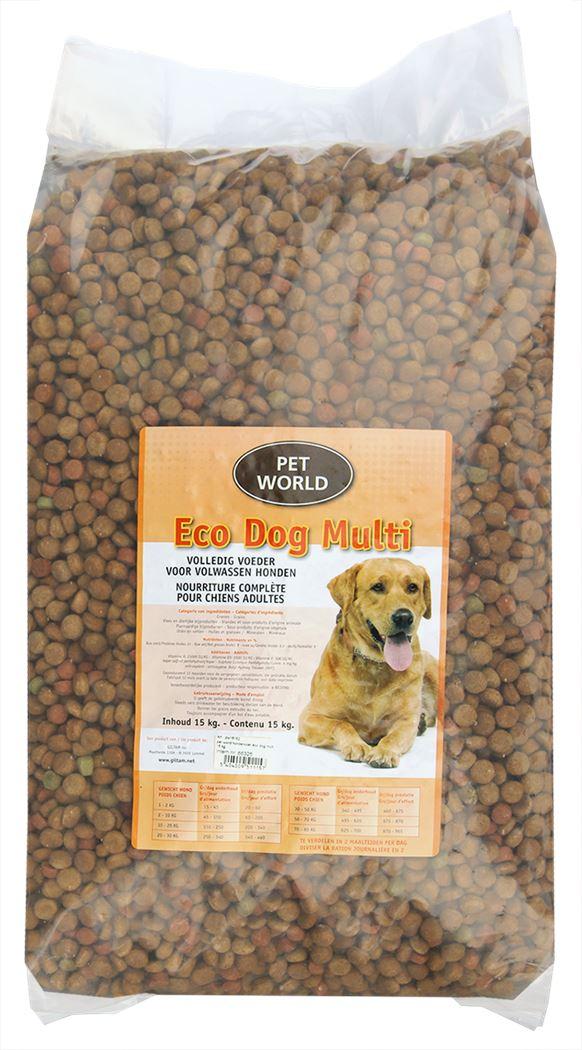 pet world hondenvoer eco dog multi
