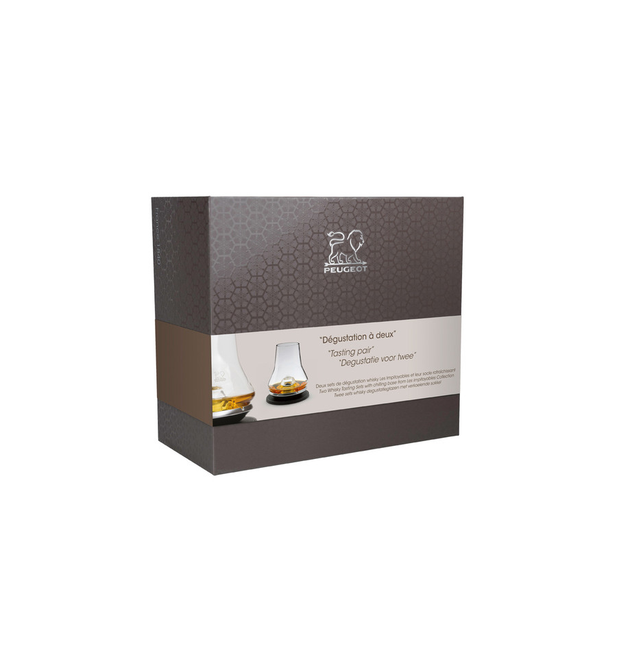 peugeot set de degustation whisky