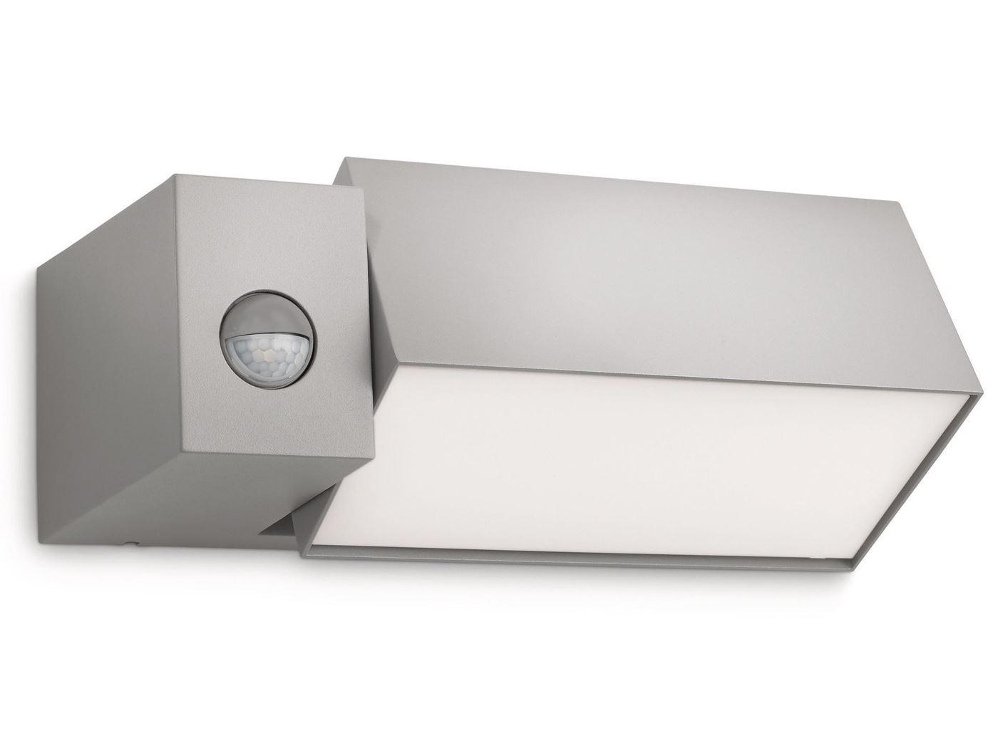 philips border wall lantern grey TL 1x23w 230v
