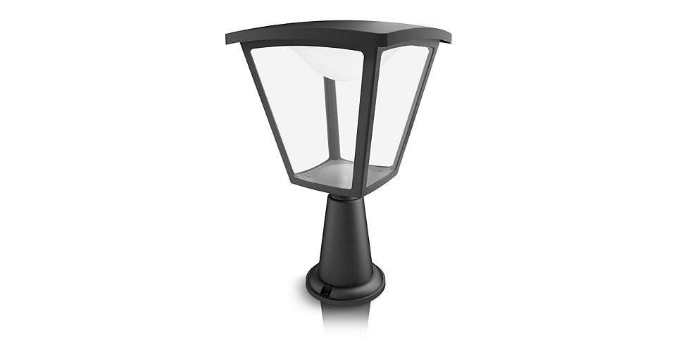 philips cottage pedestal black led 1x4.5w 230v
