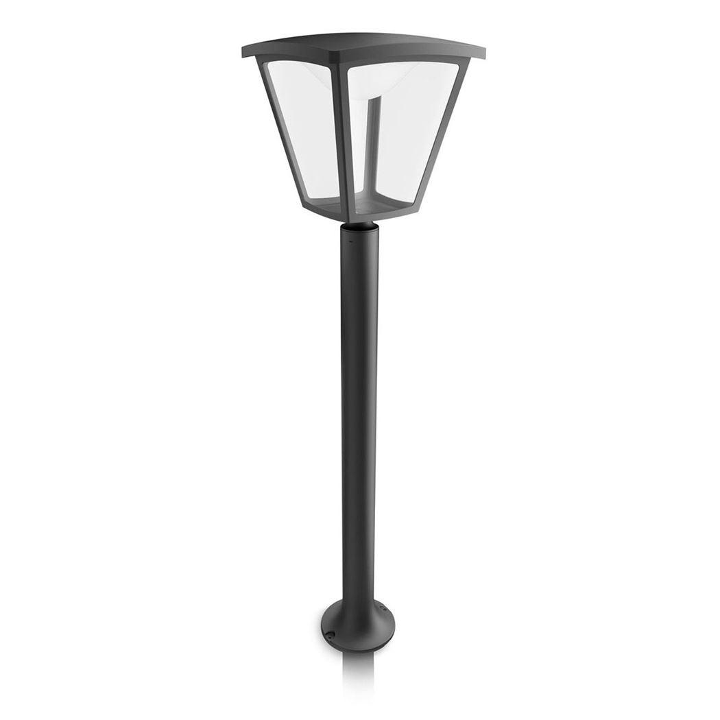 philips cottage post black led 1x4.5w 230v