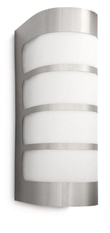 philips fence wall lantern inox TL 1x23w 230v