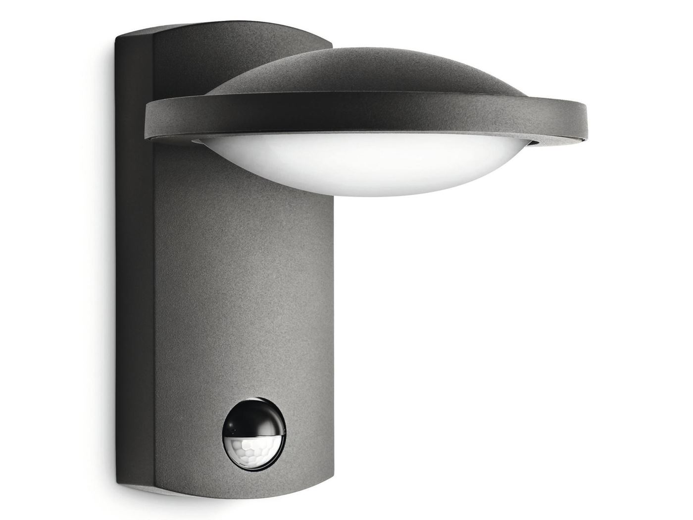 philips freedom wall lantern anthracite led 1x3w sel