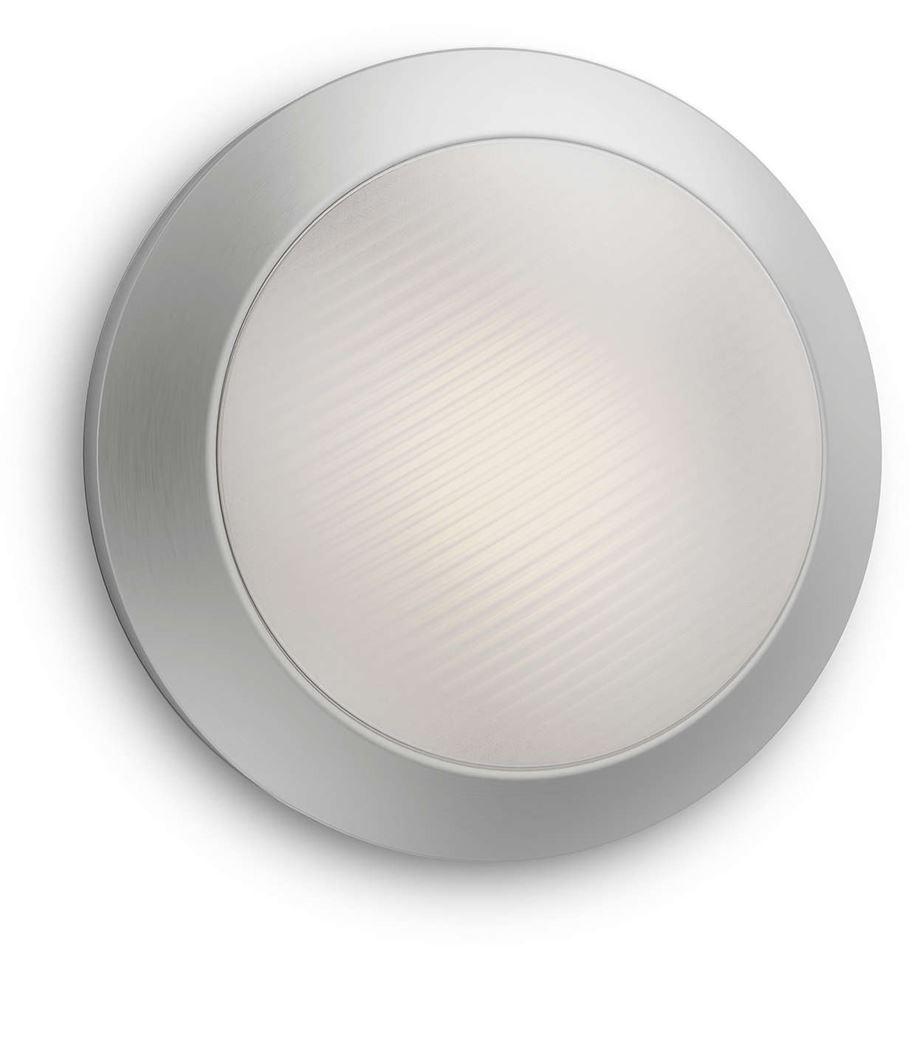 philips halo wall lantern inox led 1x3w 230v