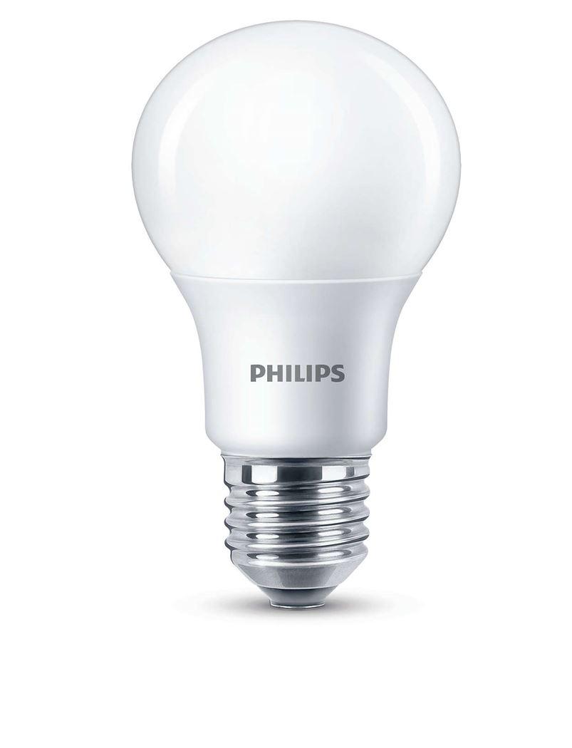 philips led 60w a60 e27 ww 230v fr d