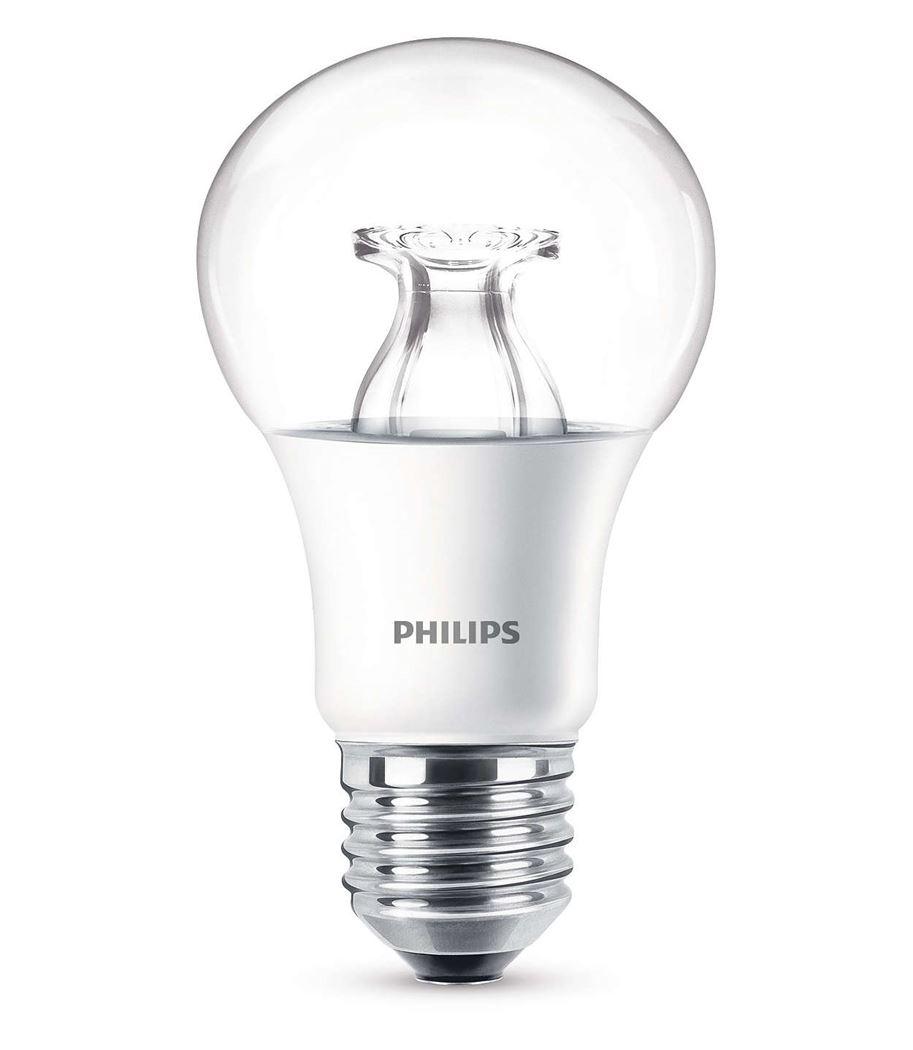 philips led 60w a60 e27 ww cl wgd