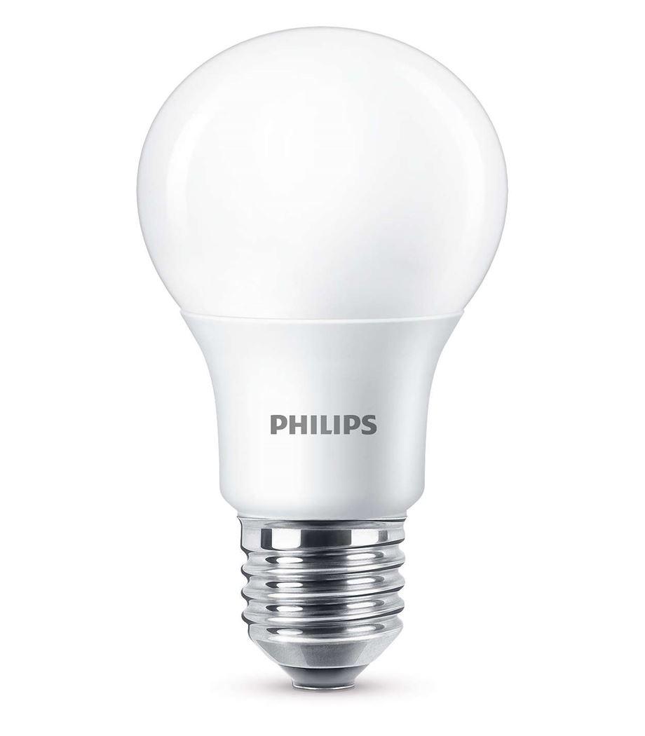 philips led 60w a60 e27 ww fr wgd