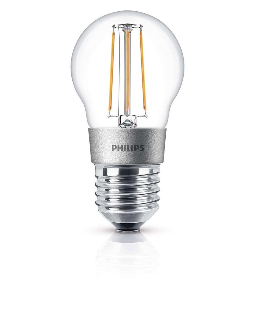 philips ledclassic 40w p45 e27 ww cl d