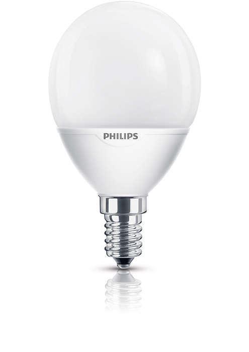 philips softone lustre ww e14 220-240v 1bc