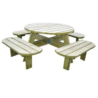 picknicktafel deluxe churra ronda